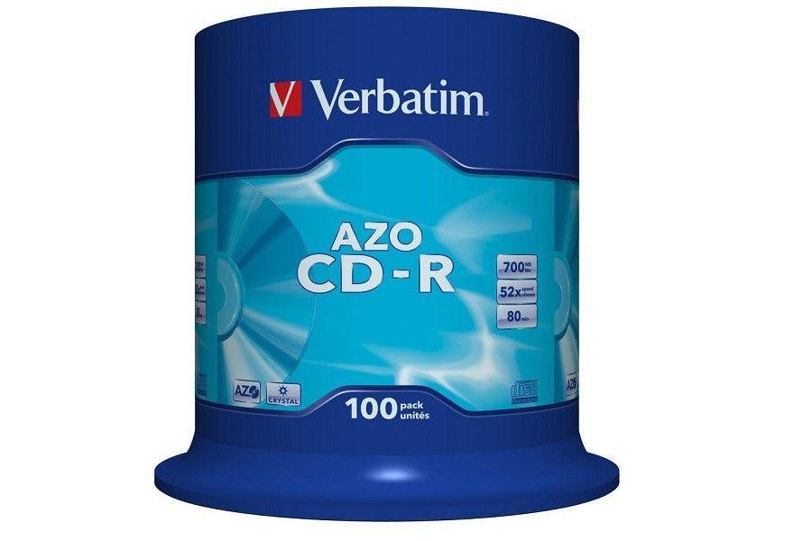 Verbatim PLYTA CDR 700MB CAKE100 AZO