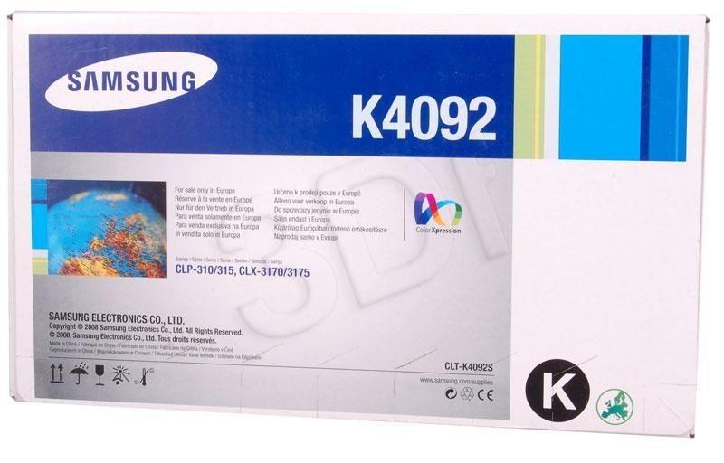 Samsung Toner black CLT-K4092S | 1 500str | CLP-310/CLP-315/CLX-3170/CLX-3175