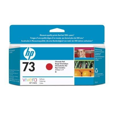 HP tusz 73 chromatic red (130ml, Designjet Z3200)