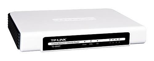 TP-Link TD-8840T ADSL Router (4xLAN, 1xWAN, Annex A, QoS)