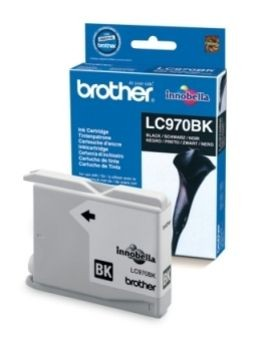 Brother Tusz LC970BK black | 350str | DCP135 / DCP150 / MFC235 / MFC260