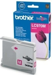 Brother Tusz LC970M magenta | 300str | DCP135 / DCP150 / MFC235 / MFC260