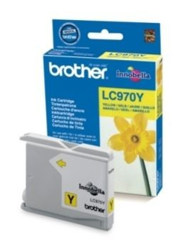 Brother Tusz LC970Y yellow | 300str | DCP135 / DCP150 / MFC235 / MFC260
