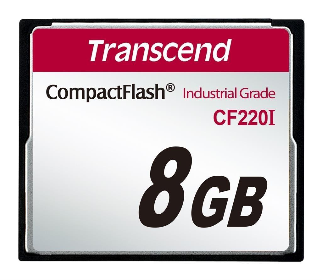 Transcend karta pamięci CF220I CompactFlash przemysłowa 8GB