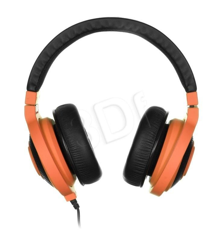 Razer Słuchawki nauszne z mikrofonem Razer Kraken Mobile (neonowy pomarańcz)
