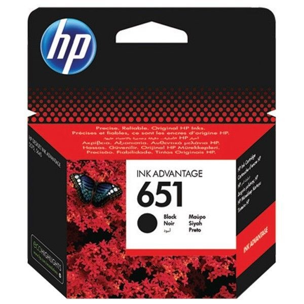 HP Tusz HP 651 Black