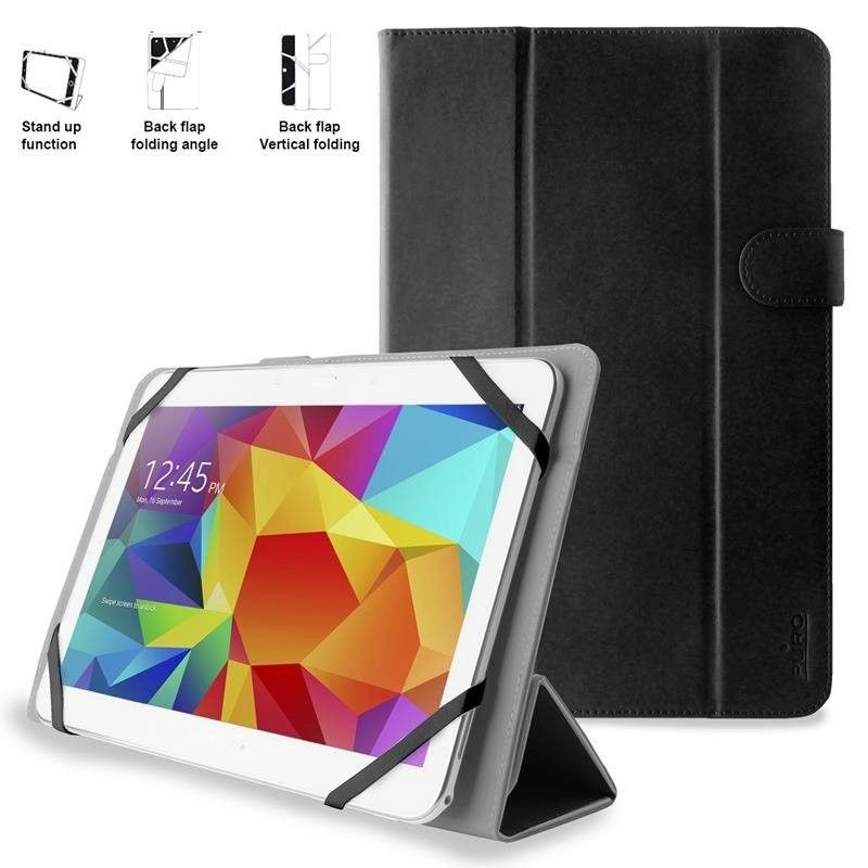 PURO Booklet Easy Etui tablet 10.1'' (czarny)