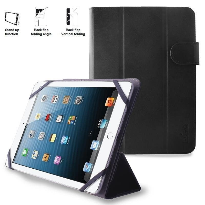 PURO Booklet Easy Etui tablet 8'' (czarny)