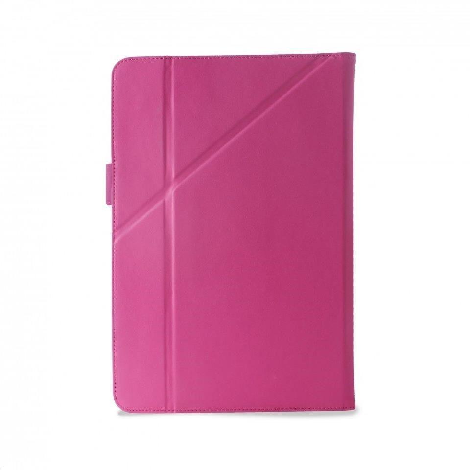 PURO Puro stojánkové pouzdro s magnetem pro tablet 10,1, růžová