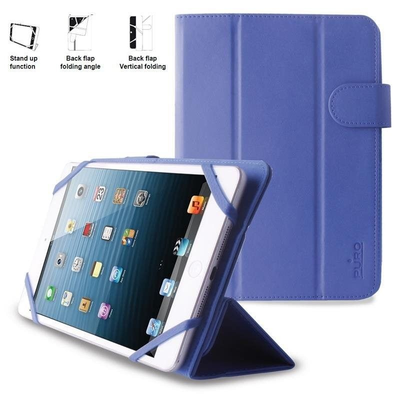 PURO Booklet Easy Etui tablet 8'' (granatowy)