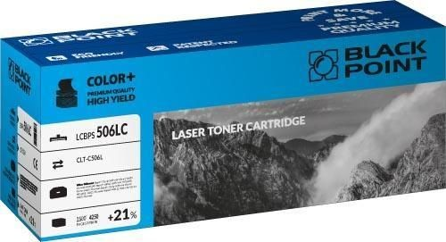 Black Point Toner Black Point LCBPS506LC | cyan | 4250 str. | Samsung CLT-C506L
