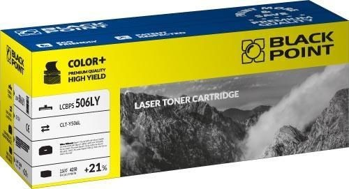 Black Point Toner Black Point LCBPS506LY | yellow | 4250 str. | Samsung CLT-Y506L