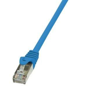 LogiLink Patchcord CAT.6 F/UTP 0,5m niebieski