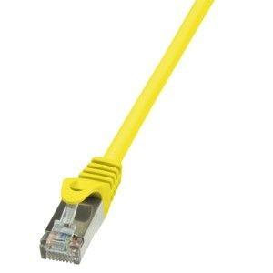 LogiLink Patchcord CAT 6 F/UTP EconLine 0,5m żółty