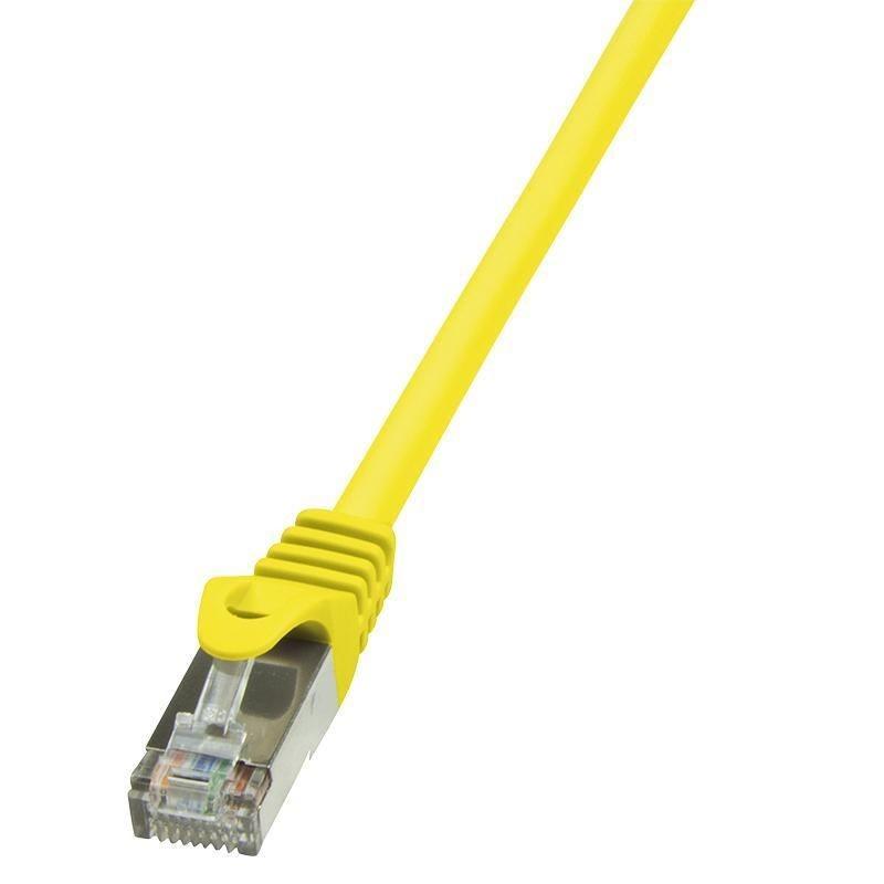 LogiLink Patchcord CAT 6 F/UTP EconLine 5m żółty