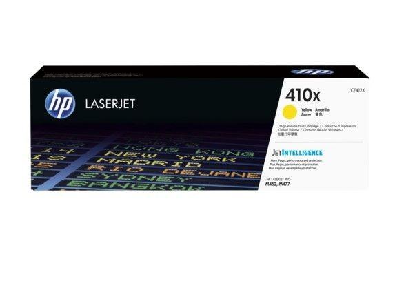 HP Toner HP 410X yellow| LaserJet Pro M452/477