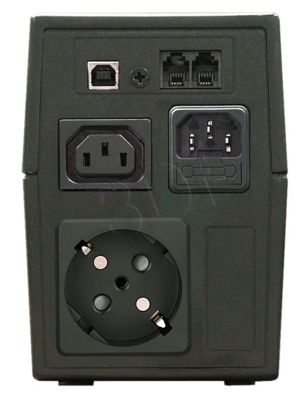 Lestar UPS MC-655SU (line interactive AVR 1xSCH 1xIEC USB)