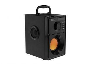 Media-Tech BOOMBOX BT - Głośnik Bluetooth stereo z wbudowanym wooferem, moc 15W RMS