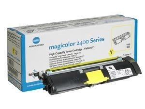 Konica Minolta Toner | 1500 str | Yellow | mc 2430 2450 2480 2490 2500 2530