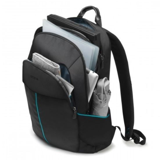 Dicota Backpack Trade 14-15.6 black Plecak na notebook czarny