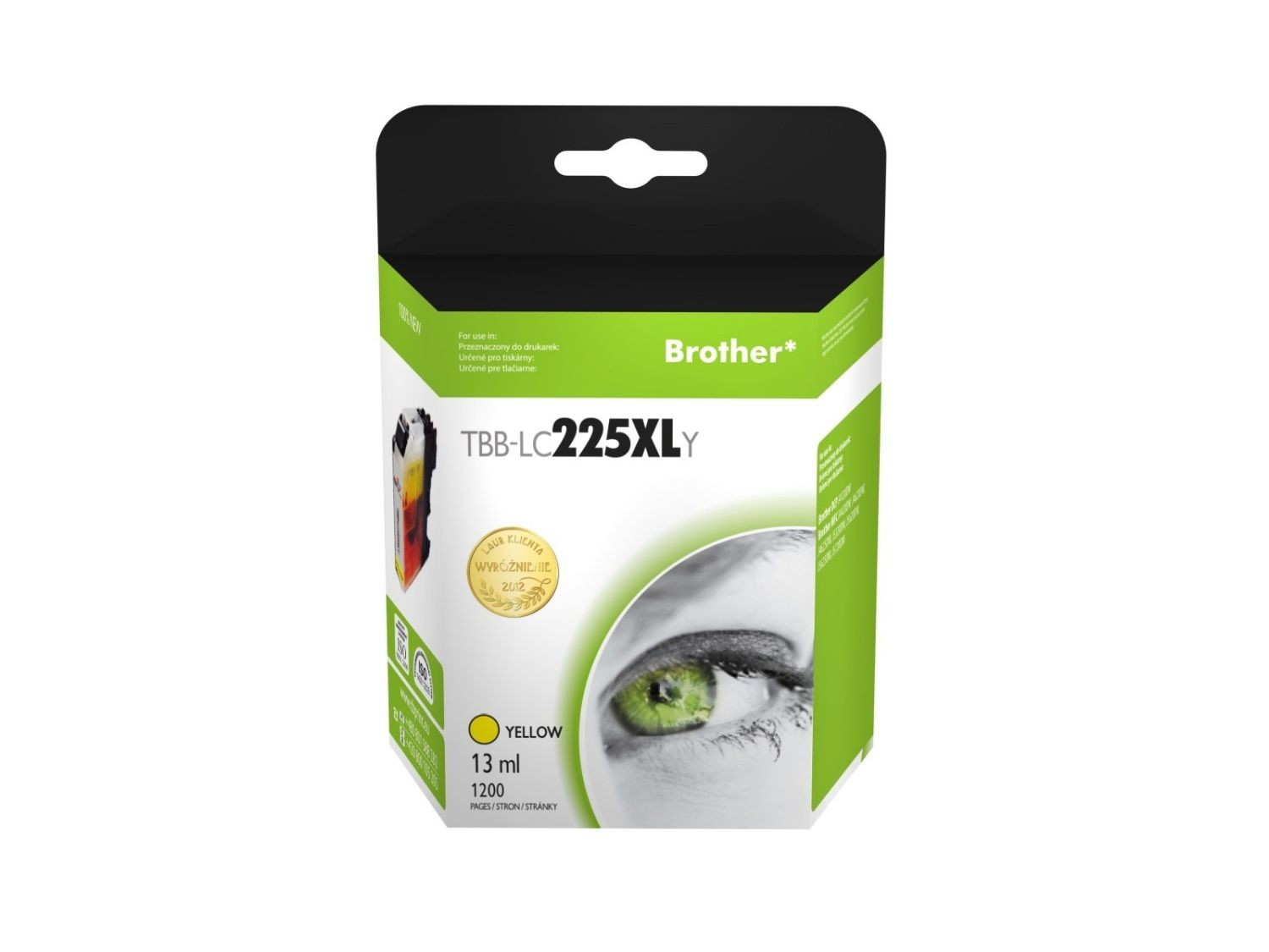 TB Print Tusz do Brother LC225XL TBB-LC225XLY YE