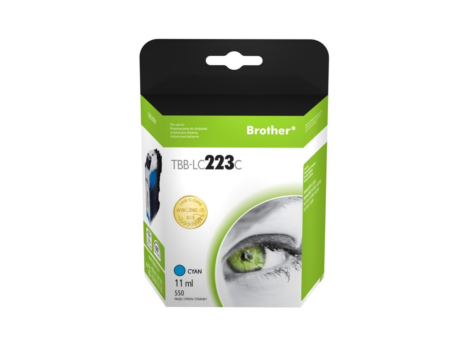 TB Print Tusz do Brother LC223 TBB-LC223C CY
