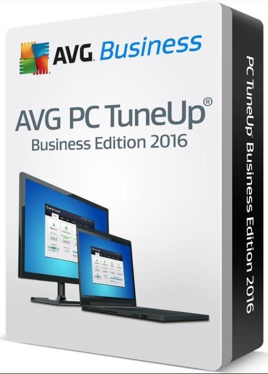 AVG _Nová licence PC TuneUp BUSINESS EDICE 10 lic. (12 měs.) SN Email ESD