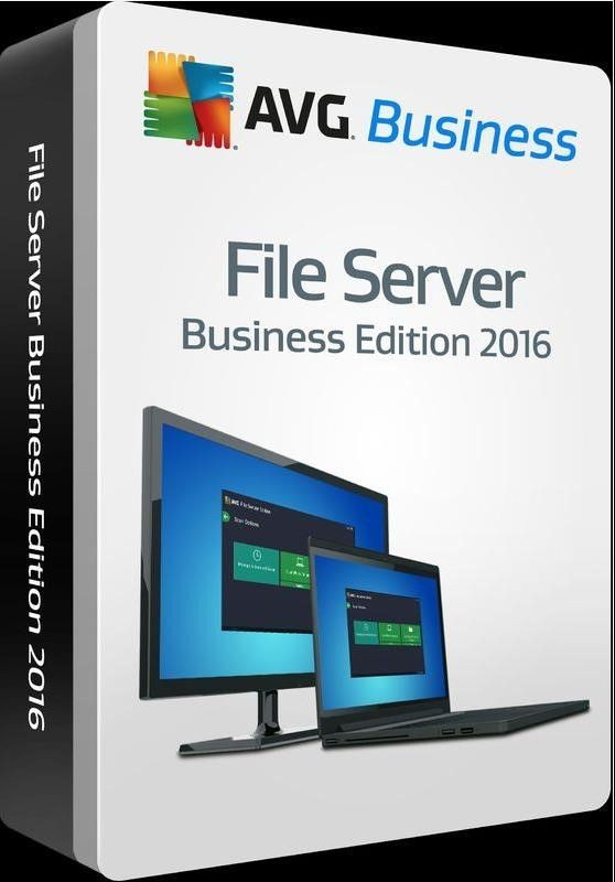 AVG _Nová licence FILE SERVER BUSINESS EDICE 40 lic. (24 měs.) SN Email ESD
