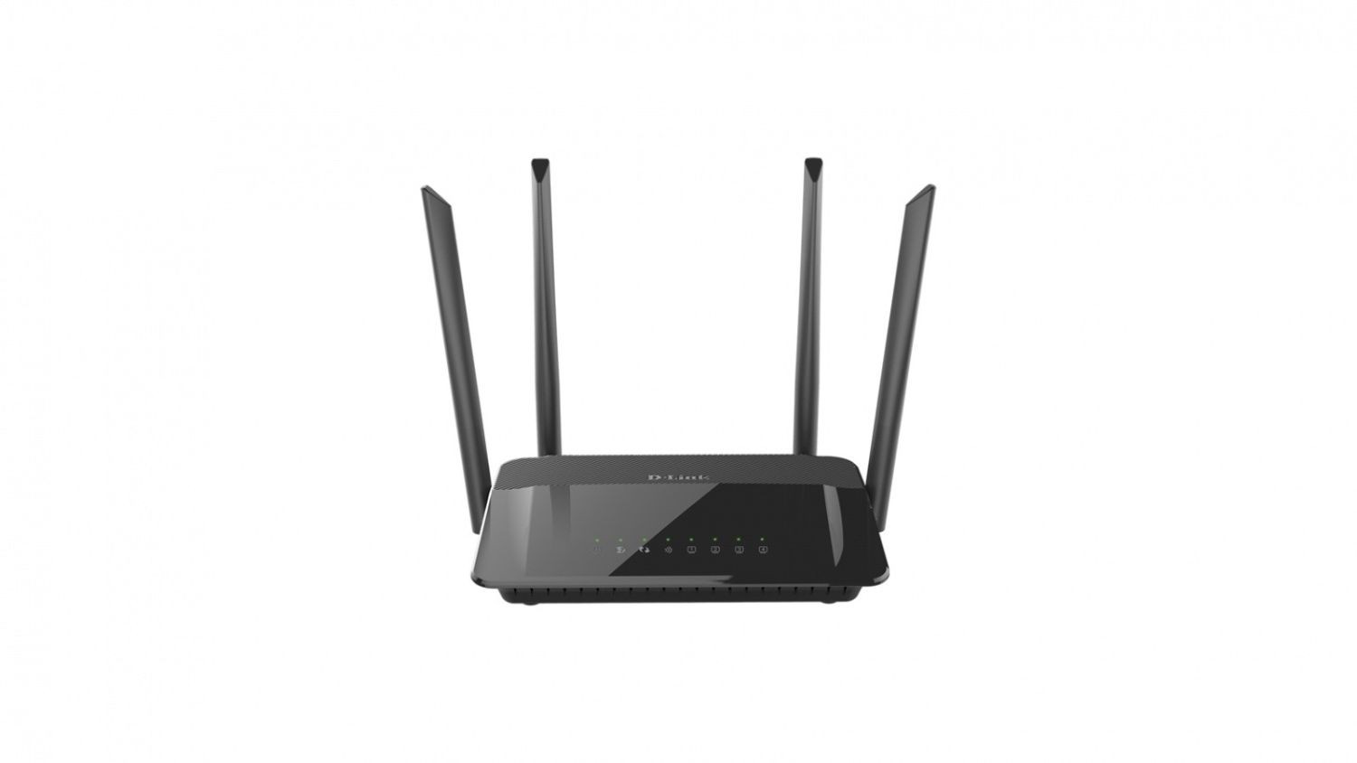 D-Link Wireless AC1200 Dual Band Gigabit Router with external antenna