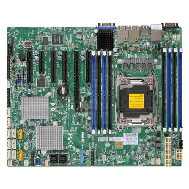 Supermicro Płyta serwerowa MBD-X10SRH-CF-O ( LGA 2011 ; 8x DDR4 DIMM ; ATX )