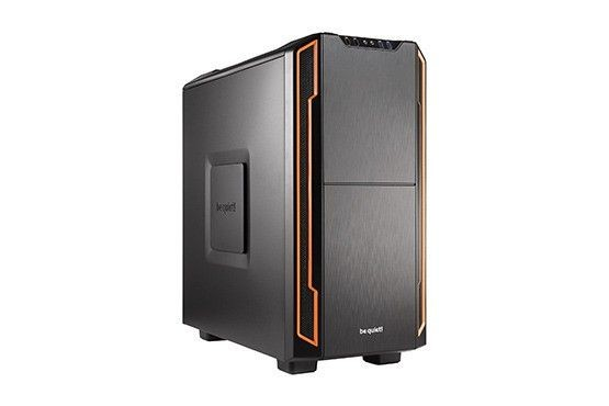 be quiet! obudowa Silent Base 600, pomarańczowa, ATX, micro-ATX, mini-ITX