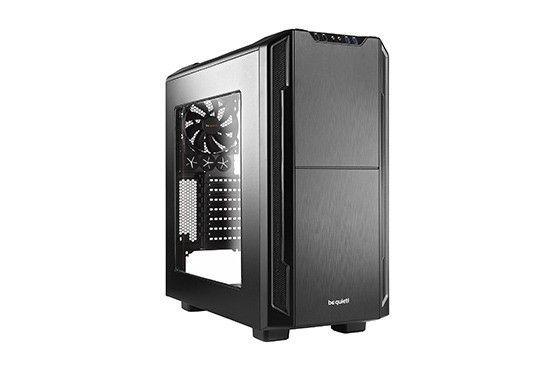 be quiet! obudowa Silent Base 600 z oknem, czarna, ATX, micro-ATX,mini-ITX
