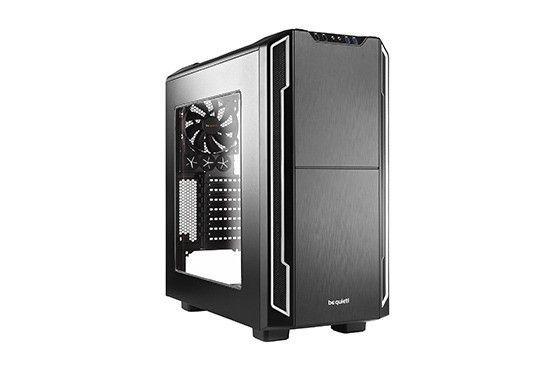 be quiet! obudowa Silent Base 600 z oknem, srebrna, ATX, micro-ATX,mini-ITX