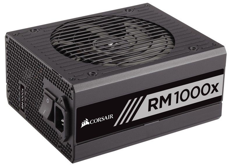 Corsair zasilacz RMx Series RM1000x 1000W, 80 PLUS Gold, modularny, 135mm