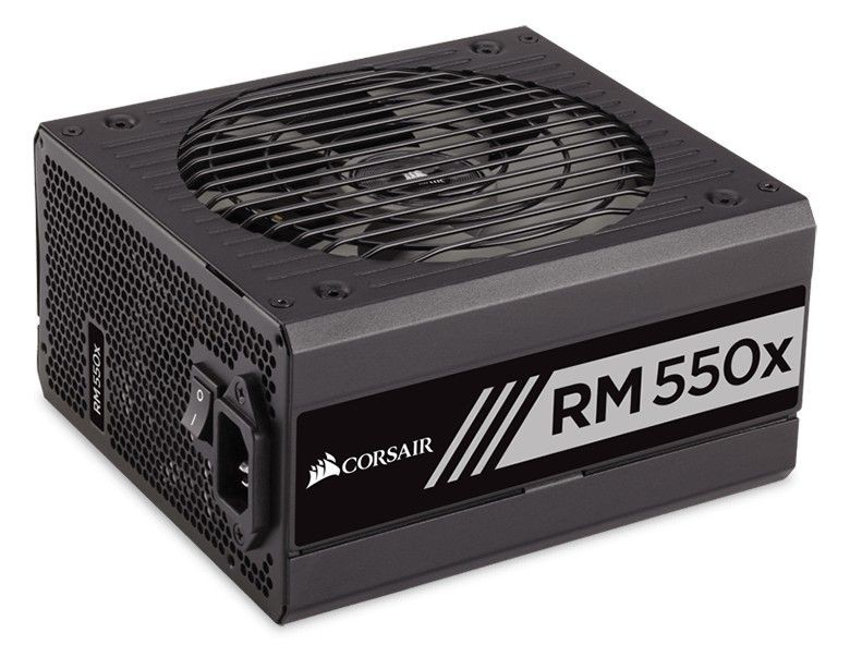 Corsair zasilacz RMx Series RM550x 550W, 80 PLUS Gold, modularny, 135mm