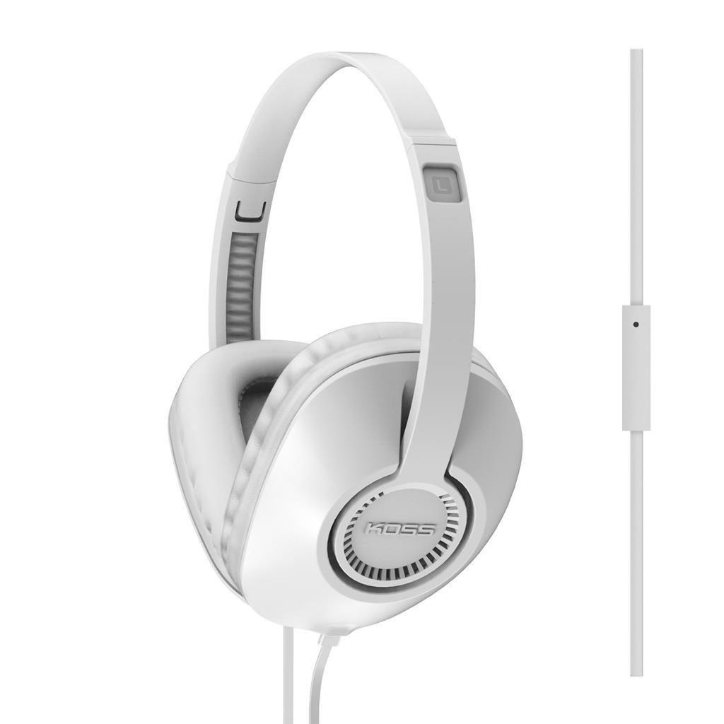 Koss Słuchawki z mikrofonem UR23i białe