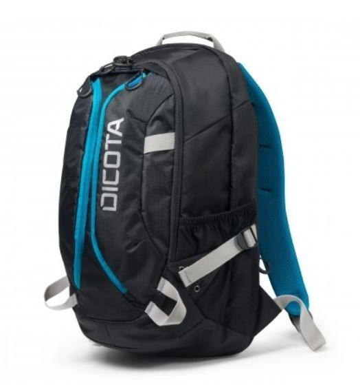 Dicota Backpack Active 14-15,6 black blue Plecak na notebook czarno niebieski