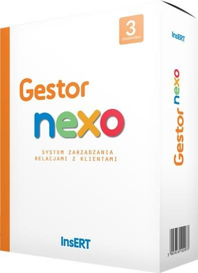 InsERT Gestor nexo wersja na 3 stanowiska