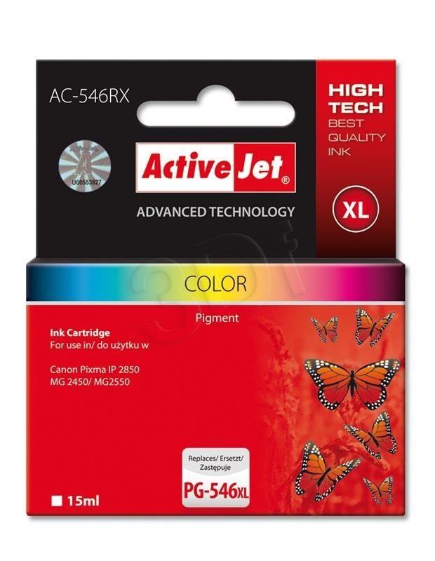 ActiveJet Tusz ActiveJet AC-546RX   Canon CL-546XL