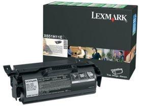 Lexmark toner black (25000str, X651de/X652de/X654de/X656de/X656dte/X658dfe)