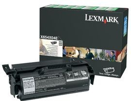 Lexmark toner black (return, 36000str, X654de/X656de/X656dte/X658dfe)