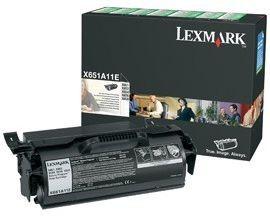 Lexmark toner black (return, 7000str, X651de/X652de/X654de/X656de/X656dte)
