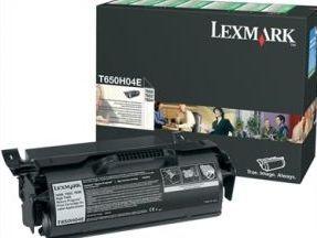 Lexmark toner black (return, do aplikacji naklejkowych, T650dn/T650dtn)