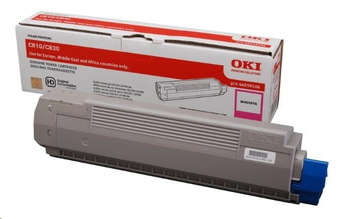 OKI Toner magenta | 8000str | C810/C830