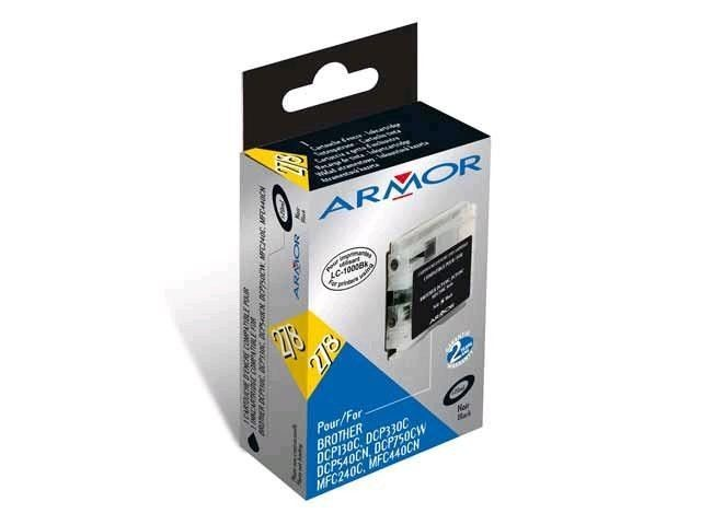 Armor tusz black do Brother DCP-130/330 (LC970/1000BK)