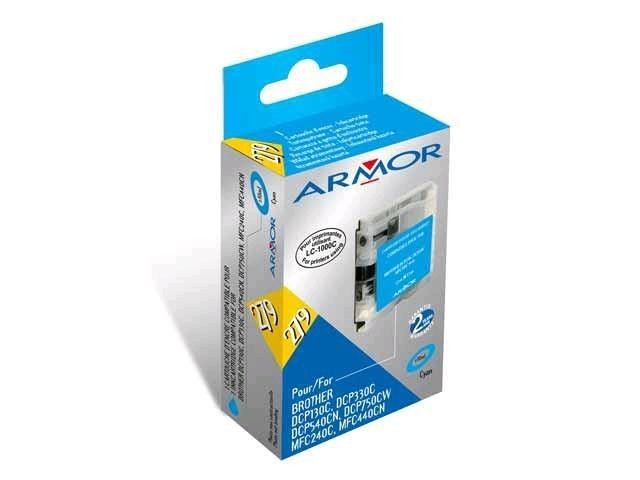 Armor tusz cyan do Brother DCP-130/330 (LC970/1000C)