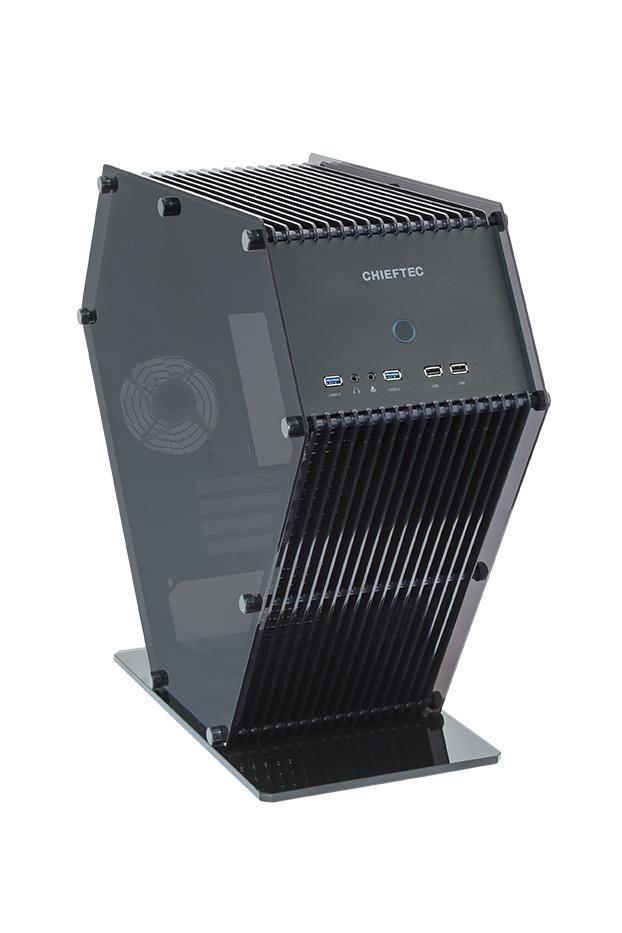 Chieftec obudowa serii UNI - SJ-06B mATX, USB 3.0