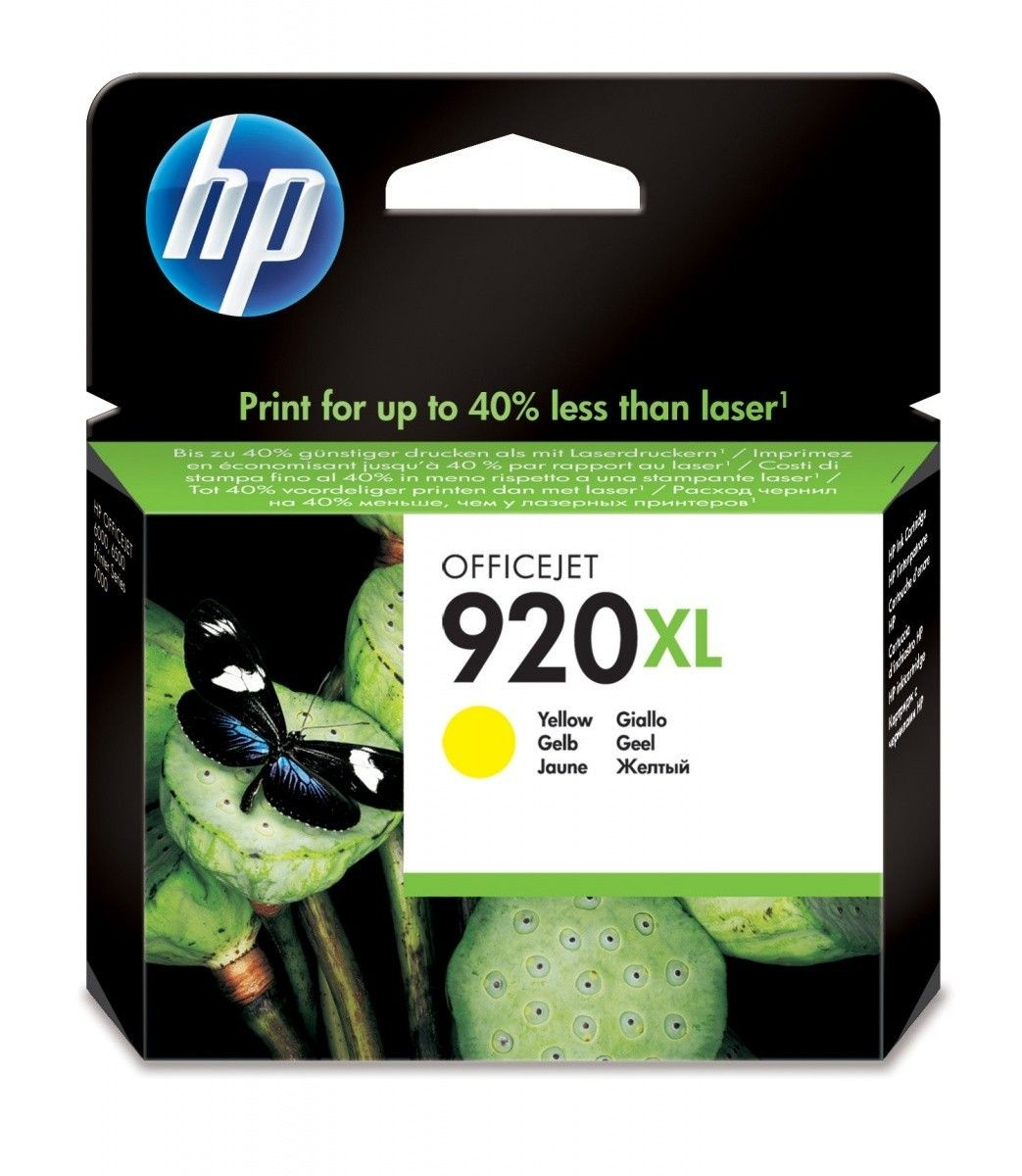 HP Wkład atramentowy HP 920XL yellow | 700str | OfficeJet 6000/6500