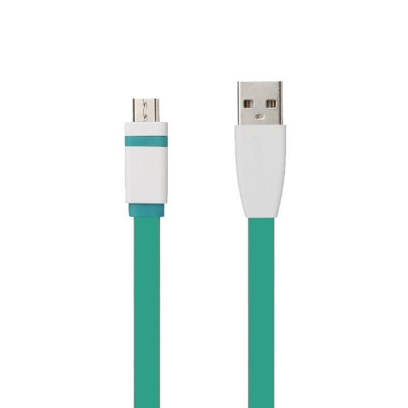 TB Kabel USB - Micro USB 1m. zielony