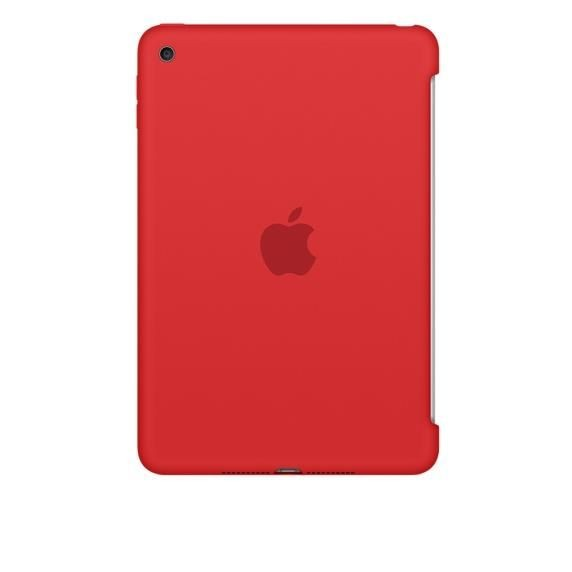 Apple iPad mini 4 Silicone Case Red